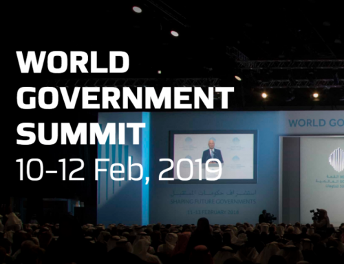 Sue Langley at the World Government Summit